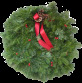 A green spruce wreath with a red bow simbolic of this this time of year. Merry Christmas! © 2006, 2007, 2008, 2009, 2010 2011, 2012 APC APC