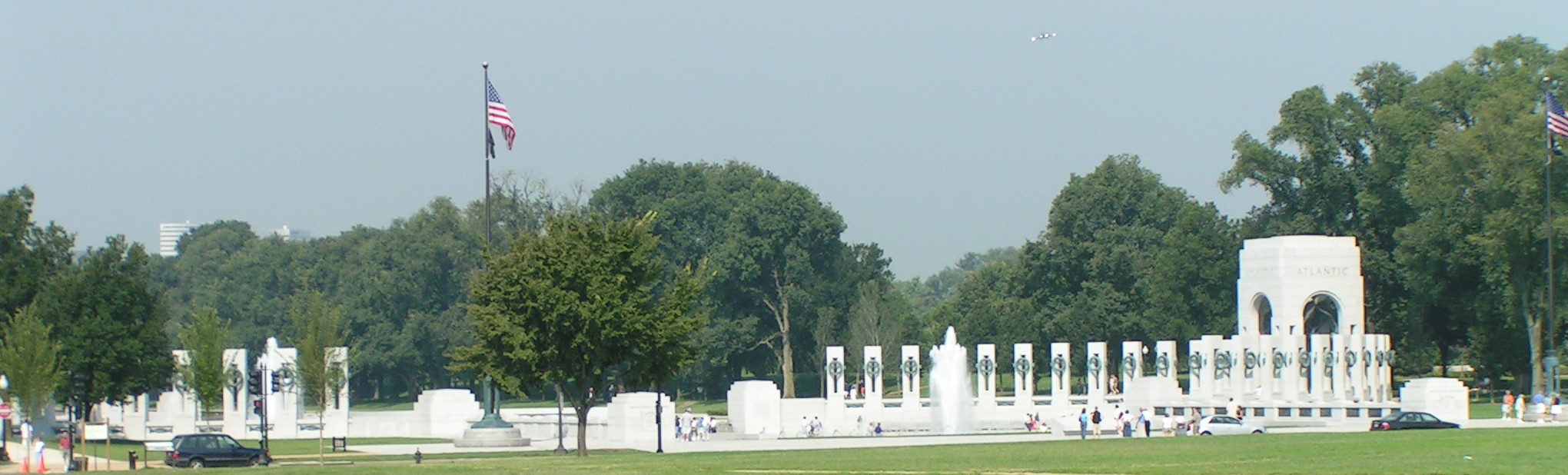 The WWII Memorial in Washington, DC 2014 © APC