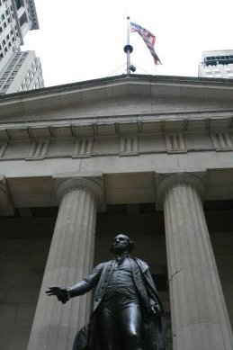 Image from  Wall Street where Washington was inaugarated 2014 © APC